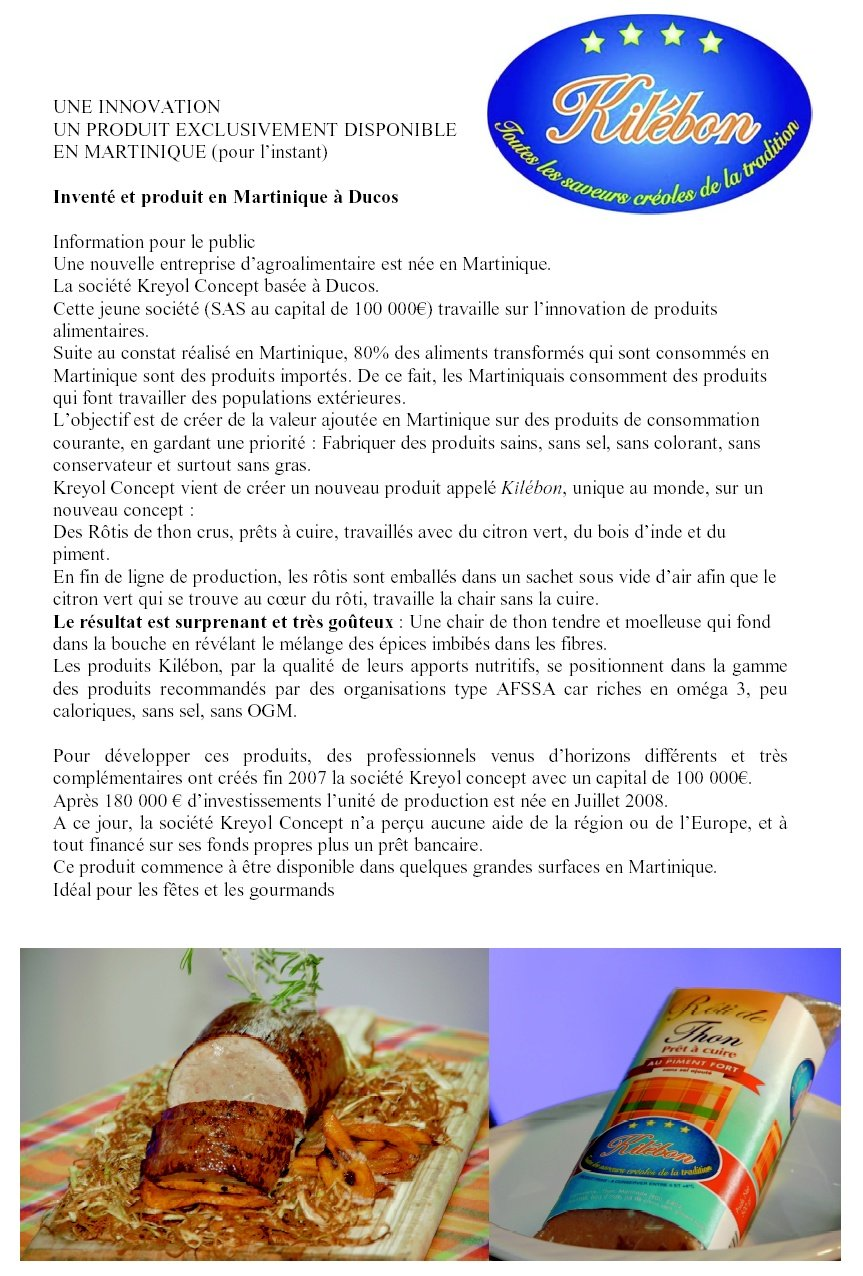 Histoire d'une innovation agroalimentaire